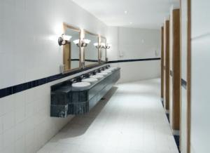 we service and repair commercial bathrooms